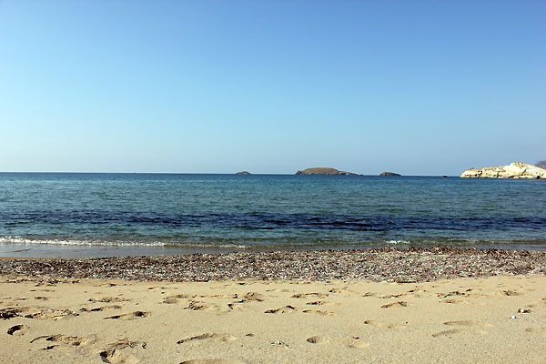 THE BEACH OF AGIOS KONSTANTINOS -